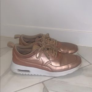 Used Nike Air Max Thea in Rose gold
